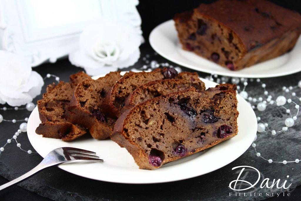 Schoko Heidelbeer Kuchen Aus Kidneybohnen Danifitlifestyle