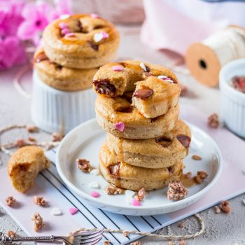 Donuts mit Schogetten und Marple Sauce