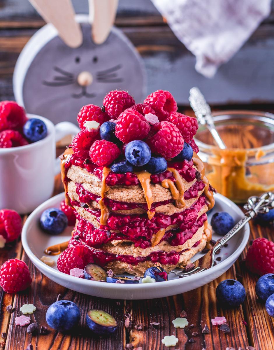 Gesunde Pancakes Laktosefrei