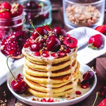 Gesunde Protein- Pancakes