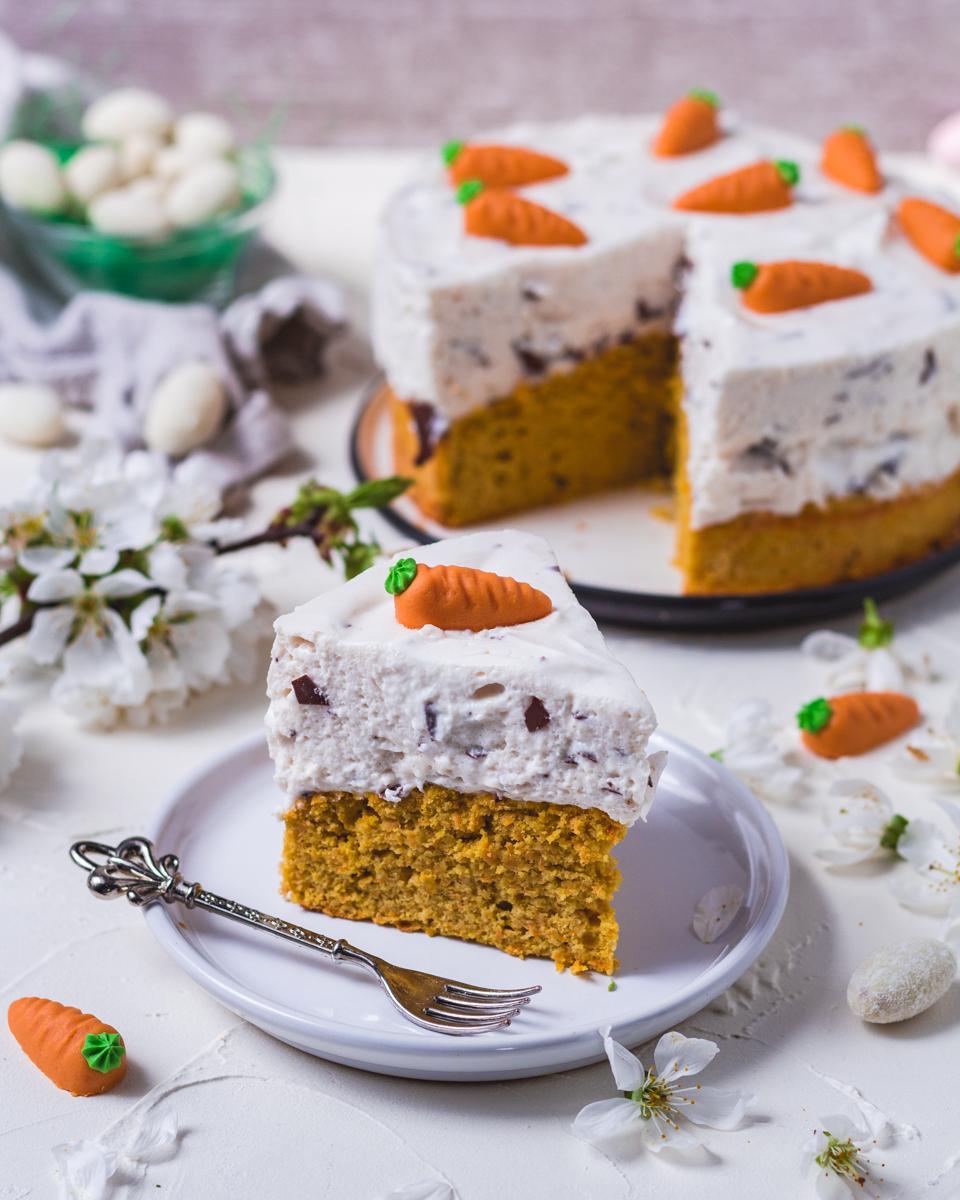 Karottenkuchen gesund ohne Zucker
