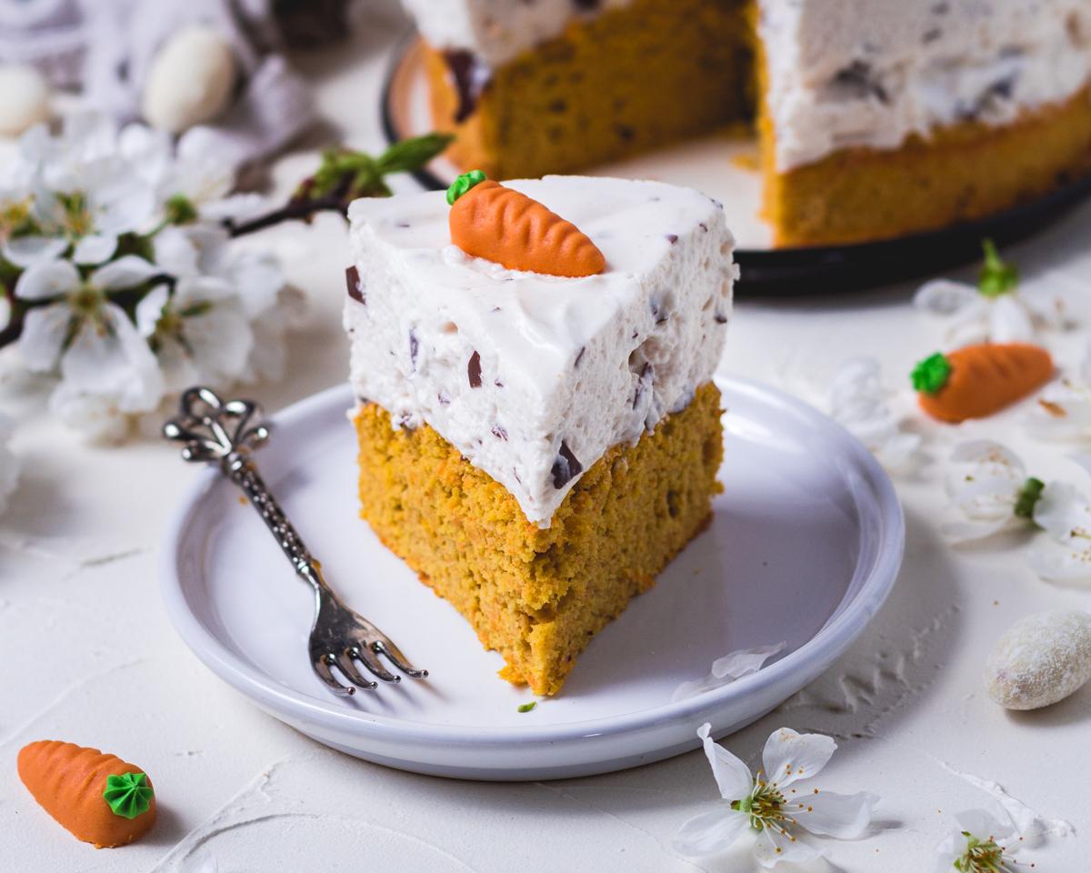 Carrot Cake mit Dickmann Creme Frosting