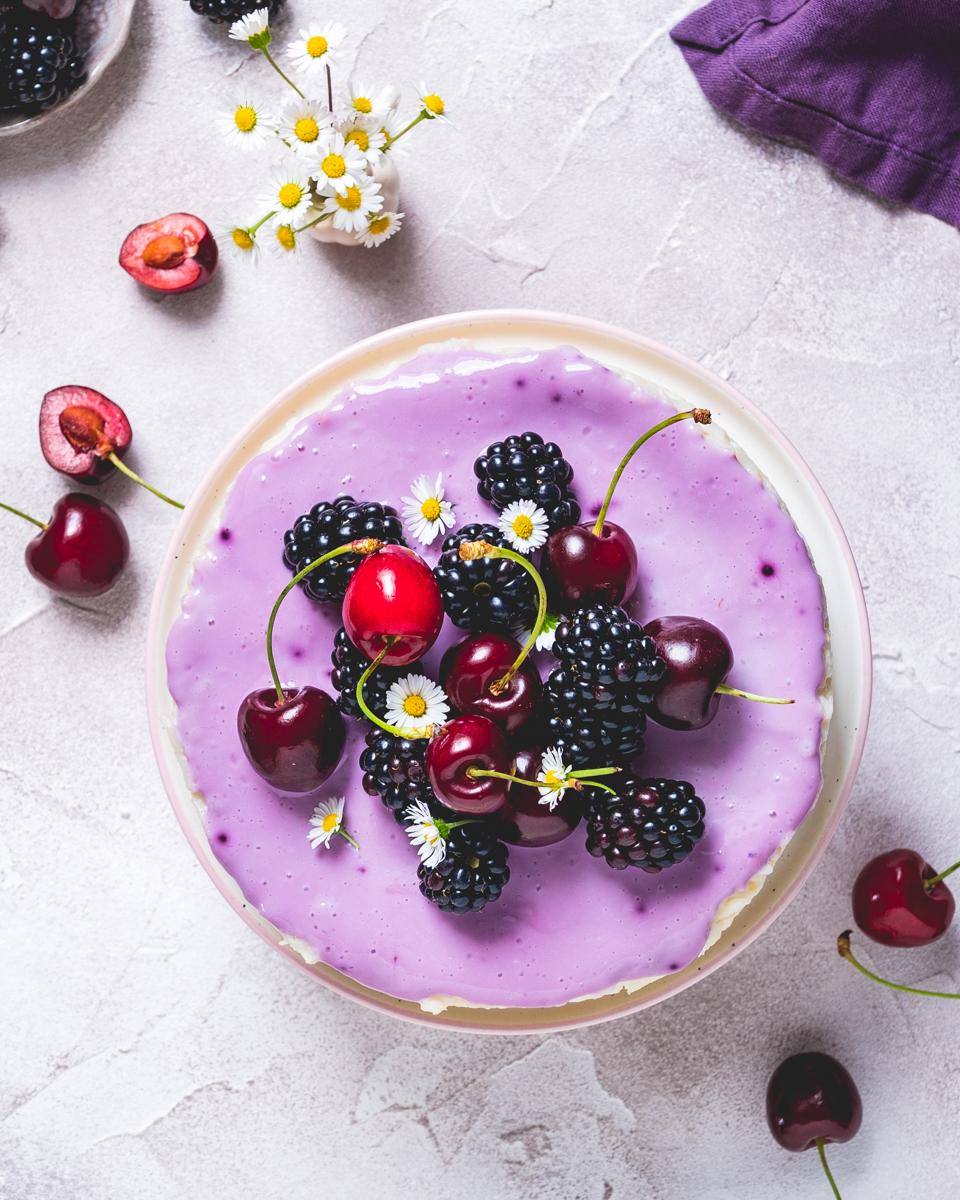 Milchreis Kuchen vegan und gesund